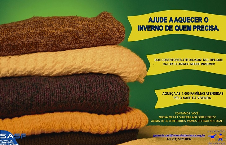 Campanha do Cobertor 2017
